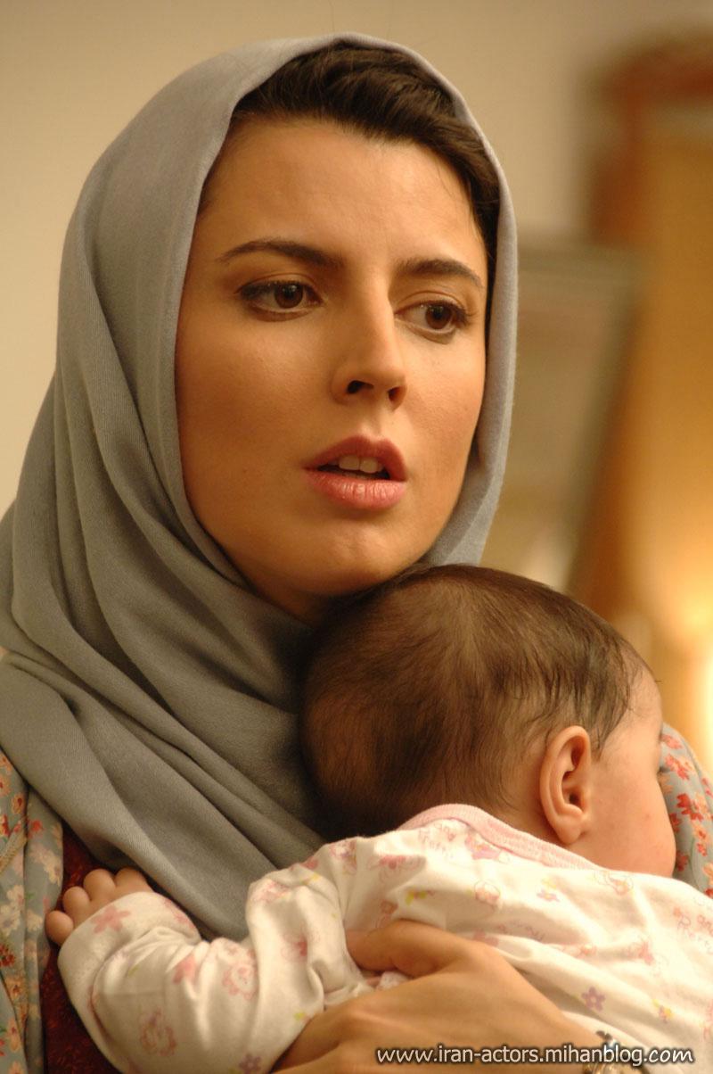 فرزند و بچه بازیگر لیلا حاتمی