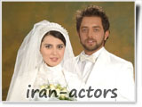 ازدواج و عروسی بازیگر زن لیلا حاتمی